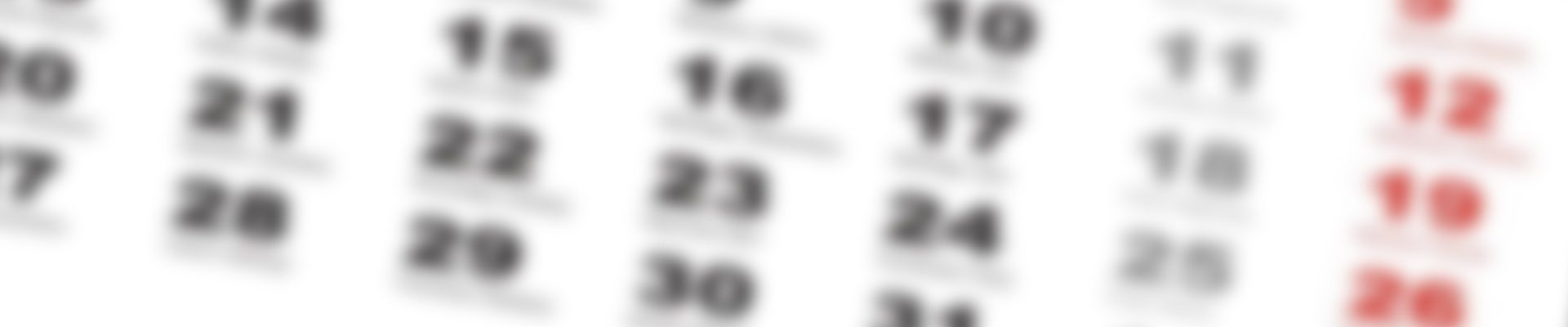 Kalendarze jednodzielne i trójdzielne